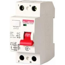 Выключатель дифференциального тока e.rccb.stand.2.16.30 2р, 16А, 30mA