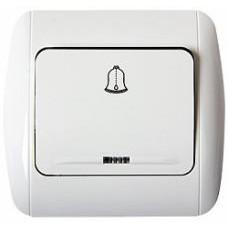 Выключатель e.install.stand.811DL звонка с подсветкой, с рамкой