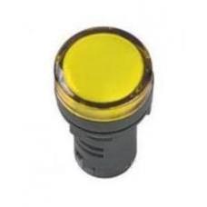 Лампа AD16DS(LED) матрица d16мм желтая 24В ИЭК