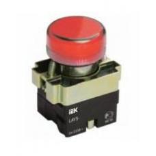 Индикатор LAY5-BU64 красного цвета d22мм ИЭК