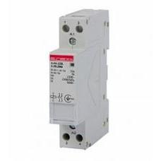 Модульный контактор e.mc.220.2.25.2NO, 2р, 25А, 2NO, 220 В