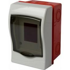 Корпус пластиковый 2-модульный e.plbox.stand.w.02, встраиваемый