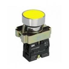 Кнопка  LAY5-BA51  желтая 1з IEK