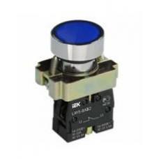 Кнопка LAY5-BA61 синяя 1з IEK