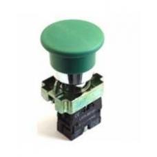 Кнопка LAY5-BC31 «Грибок»  зеленая 1з IEK