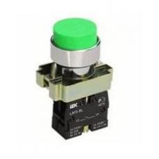 Кнопка LAY5-BL31 зеленая 1з IEK