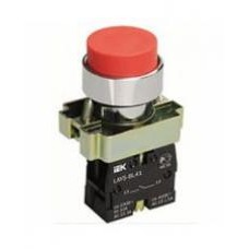 Кнопка LAY5-BL41 красная 1з IEK