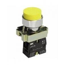 Кнопка LAY5-BL51 желтая 1з IEK